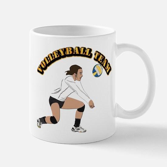 Volleyball Team Mug
