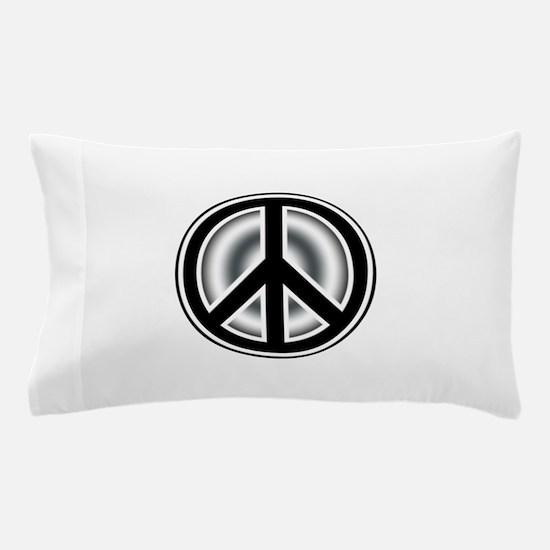 Vintage Peace symbol Pillow Case