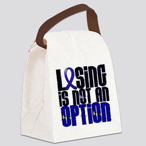 Losing Not Option Dysautonomia Canvas Lunch Bag