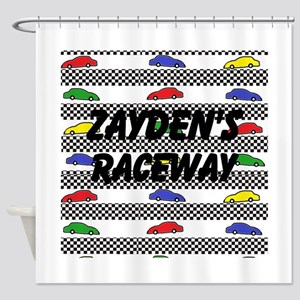 Personalize Car Image Shower Curtain