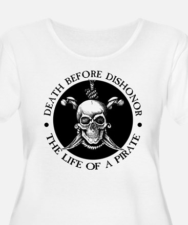 Death Before Dishonor Plus Size T-Shirt