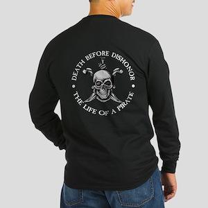 Death Before Dishonor Long Sleeve Dark T-Shirt