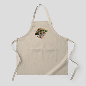 Mexican Cat in Sombrero Apron