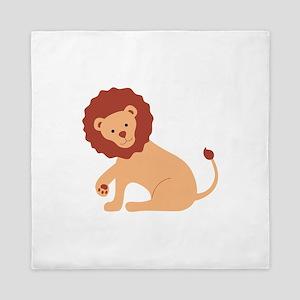 Lion Animal Queen Duvet