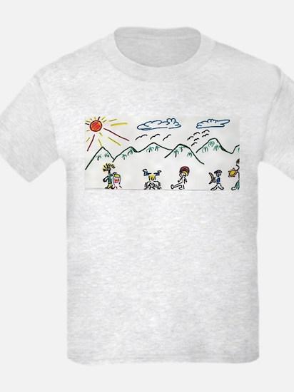 Capoeira Drawing T-Shirt