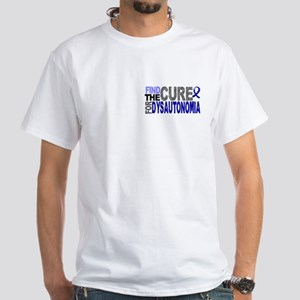 Find the Cure Dysautonomia White T-Shirt