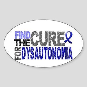 Find the Cure Dysautonomia Sticker (Oval)