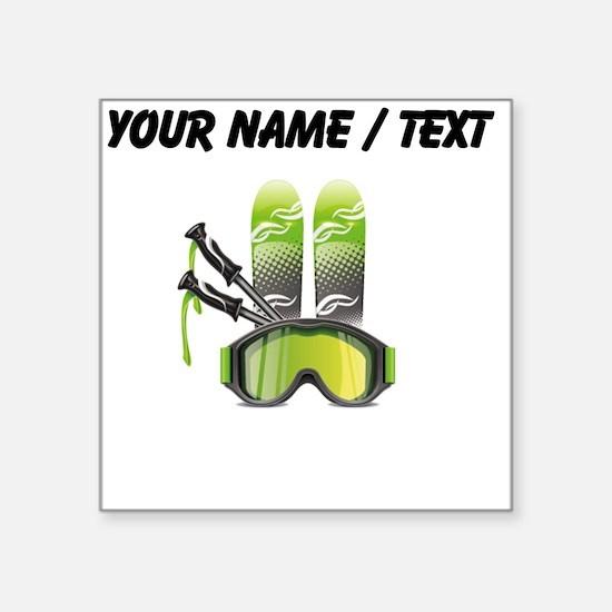 Custom Ski Gear Sticker