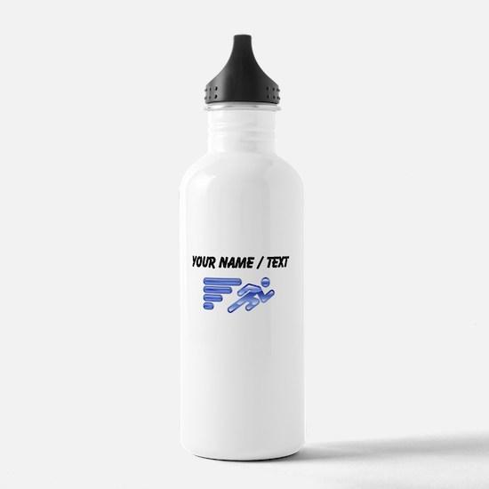 Custom Running Icon Water Bottle