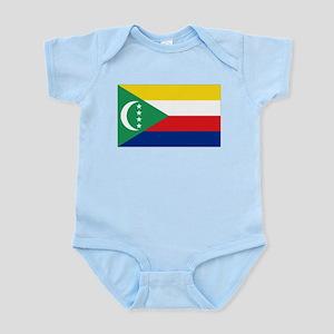 Flag Comoros Infant Bodysuit