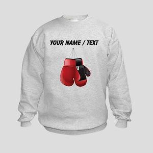 Custom Boxing Gloves Sweatshirt