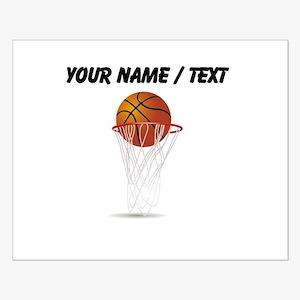 Custom Basketball Hoop Posters