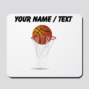 Custom Basketball Hoop Mousepad