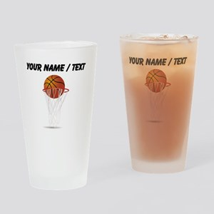 Custom Basketball Hoop Drinking Glass