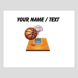 Custom Basketball Icon Posters