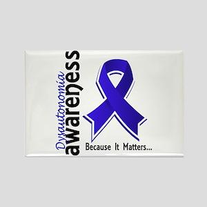 Awareness 5 Dysautonomia Rectangle Magnet
