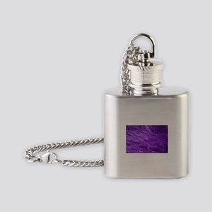 Purple Tresses Flask Necklace