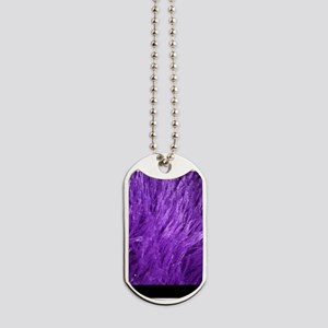Purple Tresses Dog Tags