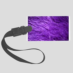 Purple Tresses Luggage Tag