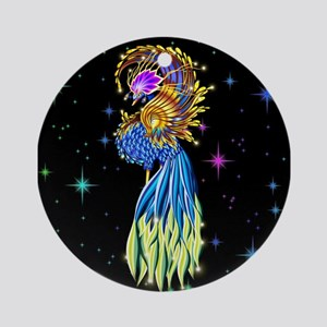 Paradise Bird Fantasy Ornament (Round)