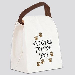 Wheaten Terrier Dad Canvas Lunch Bag