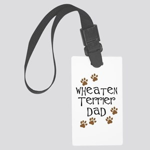 Wheaten Terrier Dad Luggage Tag