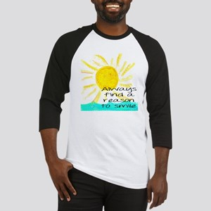 Always find a reason to smile Baseball Jersey