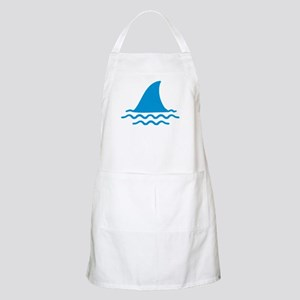 Blue shark fin Apron