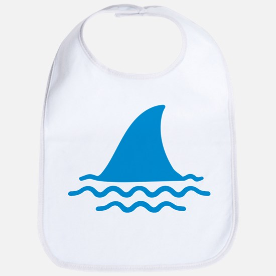 Blue shark fin Bib