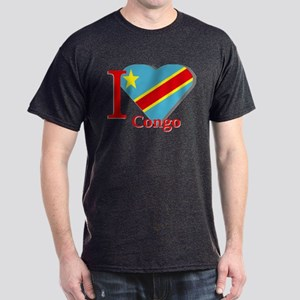 I love Congo Dark T-Shirt