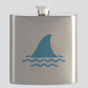 Blue shark fin Flask