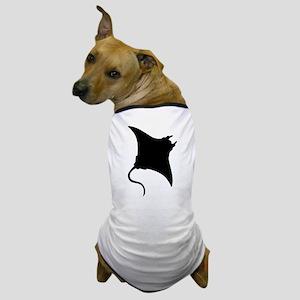 Manta Ray Dog T-Shirt