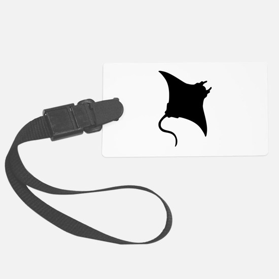 Manta Ray Luggage Tag