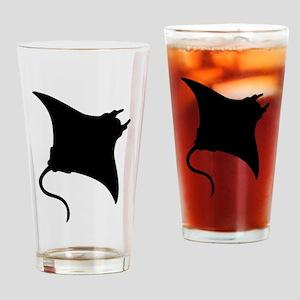 Manta Ray Drinking Glass