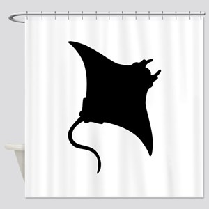 Manta Ray Shower Curtain