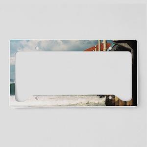 Manhattan Beach Pier  License Plate Holder