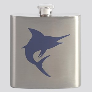 Blue Marlin Fish Flask