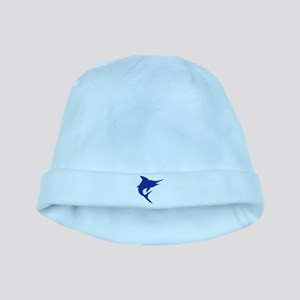 Blue Marlin Fish baby hat