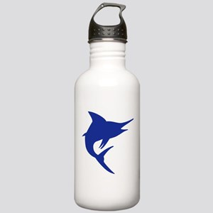 Blue Marlin Fish Stainless Water Bottle 1.0L