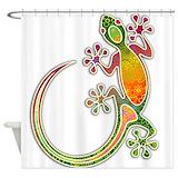 Lizard Shower Curtains