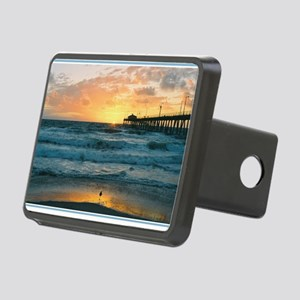Hermosa Beach Pier Rectangular Hitch Cover