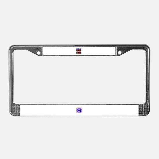 Made In 1912 License Plate Frame