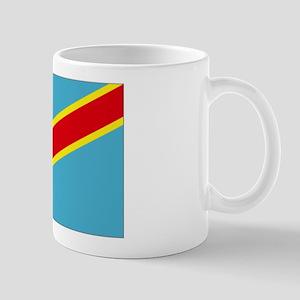 Congo DRC flag Mug