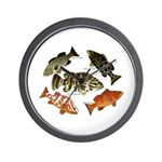 5 Grouper Wall Clock