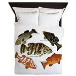 5 Grouper Queen Duvet