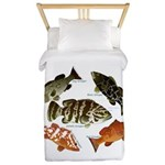 5 Grouper Twin Duvet