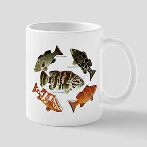 5 Grouper c Mugs