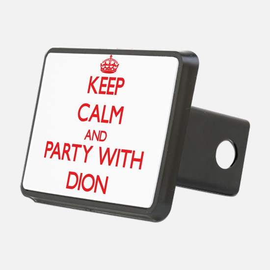 Keep calm and Party with Dion Hitch Cover