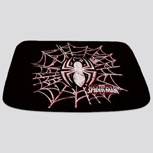 Spiderman Web Bathmat