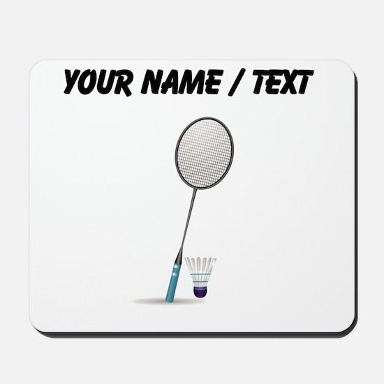 Custom Badminton Mousepad